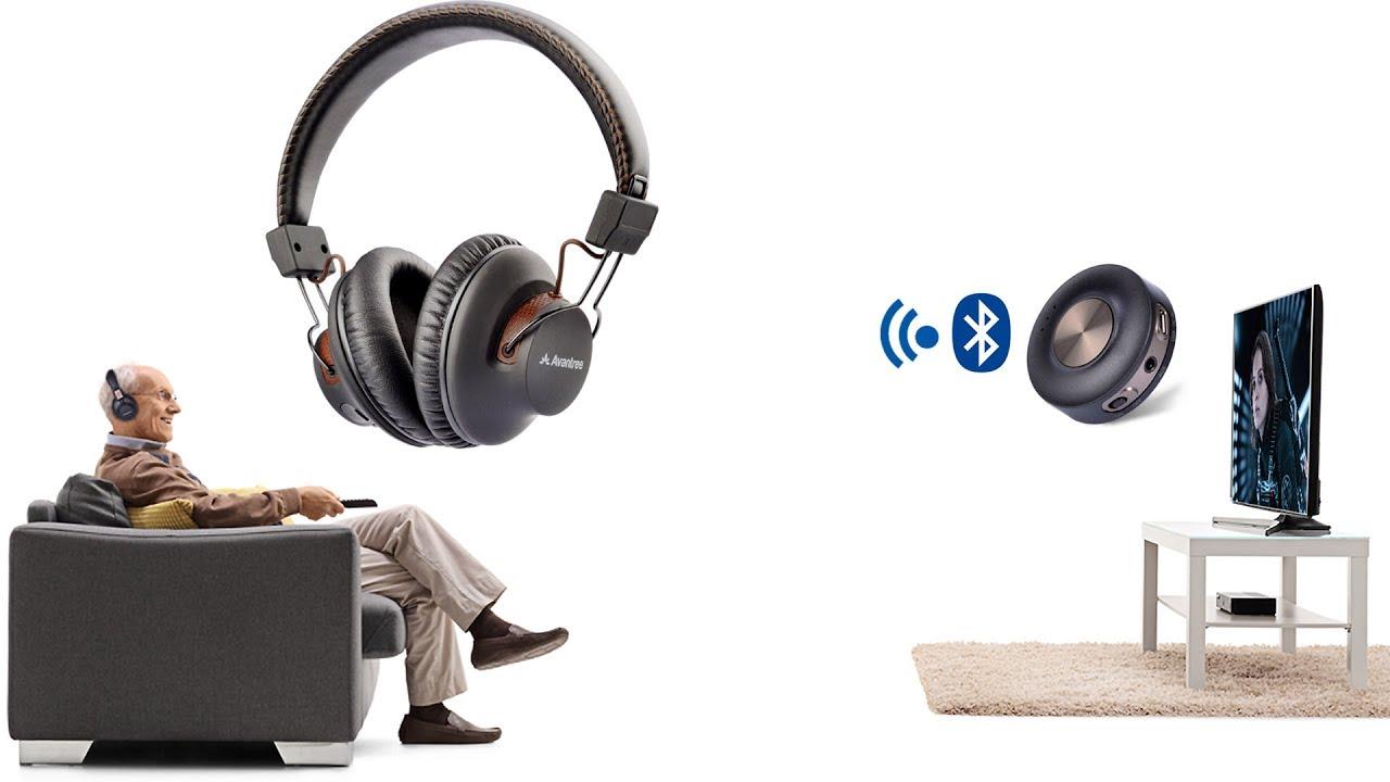debf2ef7058 The Best Wireless Set (Wireless Headphones + Bluetooth Transmitter) For TV  - Avantree HT3189