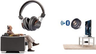 The Best Wireless Set (Wireless Headphones + Bluetooth Transmitter) For TV - Avantree HT3189