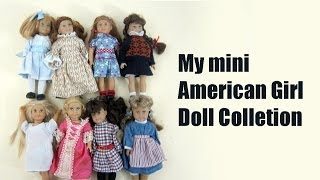 My Mini American Girl Doll Collection