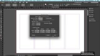 ٦- الدرس السادس - InDesign CC 2015 - تغيير إعدادات الملف