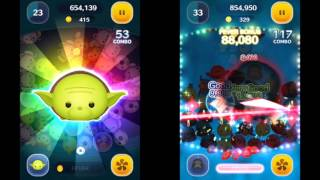 Yoda v.s Darth Vader Disney Tsum Tsum Game