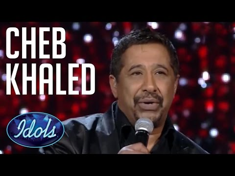 Cheb Khaled Sings live On Arab Idol | Idols Global  الشاب خالد - عيشة