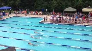 Connor 25 Meter freestyle.