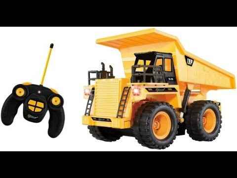 Remote Control Heavy Duty Construction Dump Truck Toy For Children