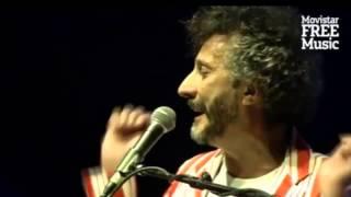 Tuve tu amor -  Fito Páez - Movistar Free Music 2014 - En vivo