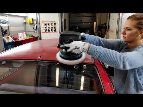 T Cut A Super Faded Red Car 👍🏻 Citroën AX