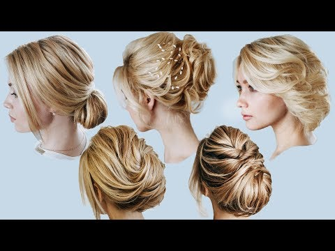 5 ideas for short blond hair | 5 Hairstyles for shoulders length hair | KuklaLu compilation