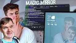 DIY Smart Mirror mit @Oskar  - Programmieren und Einrichten von MagicMirror² | Tips, Tricks & More