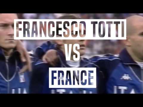 Francesco Totti vs France 2/07/2000