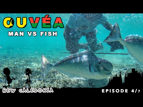 Hunting giant fish and coconut crabs on Ouvéa , New Caledonia [adventure family travel series]
