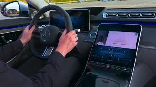 2021 Mercedes S Class arka aks teknolojisi