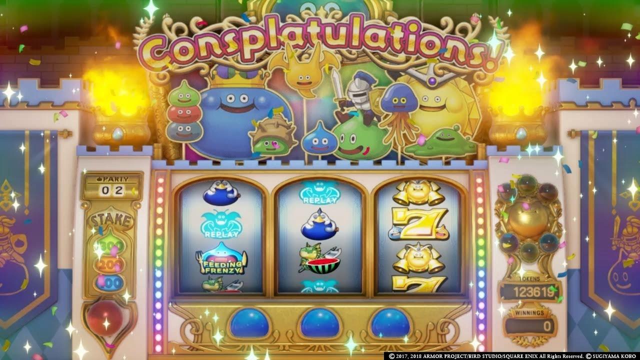 Slime Slot Machine Orbs