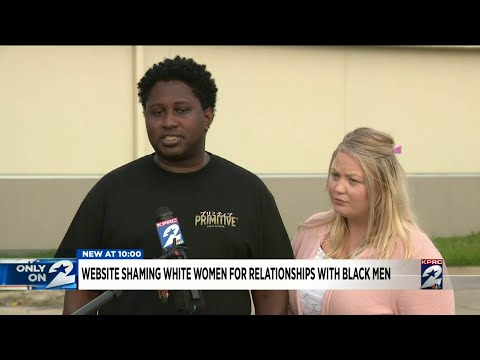 Website shames white women for relationships with black men from YouTube · Duration:  2 minutes 29 seconds