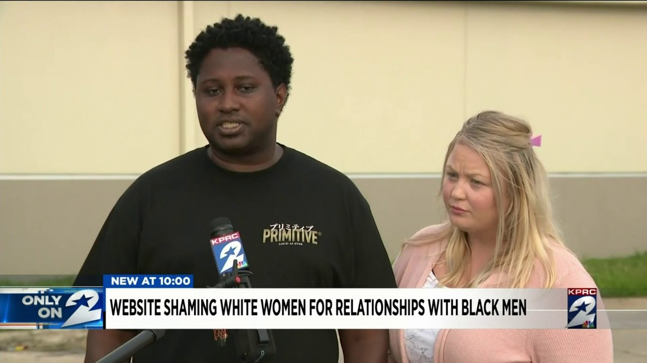 Website shames white women for relationships with black men
