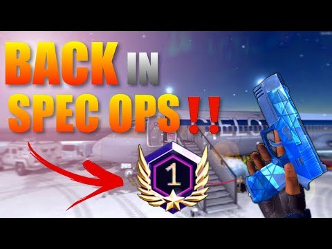 Critical Ops Ranked Back In Spec Ops‼️
