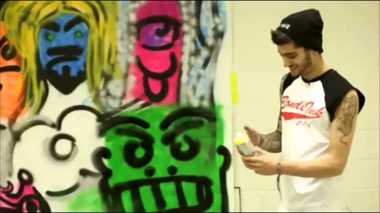 Zayn Malik Drawing Skills Zayn haciendo G...
