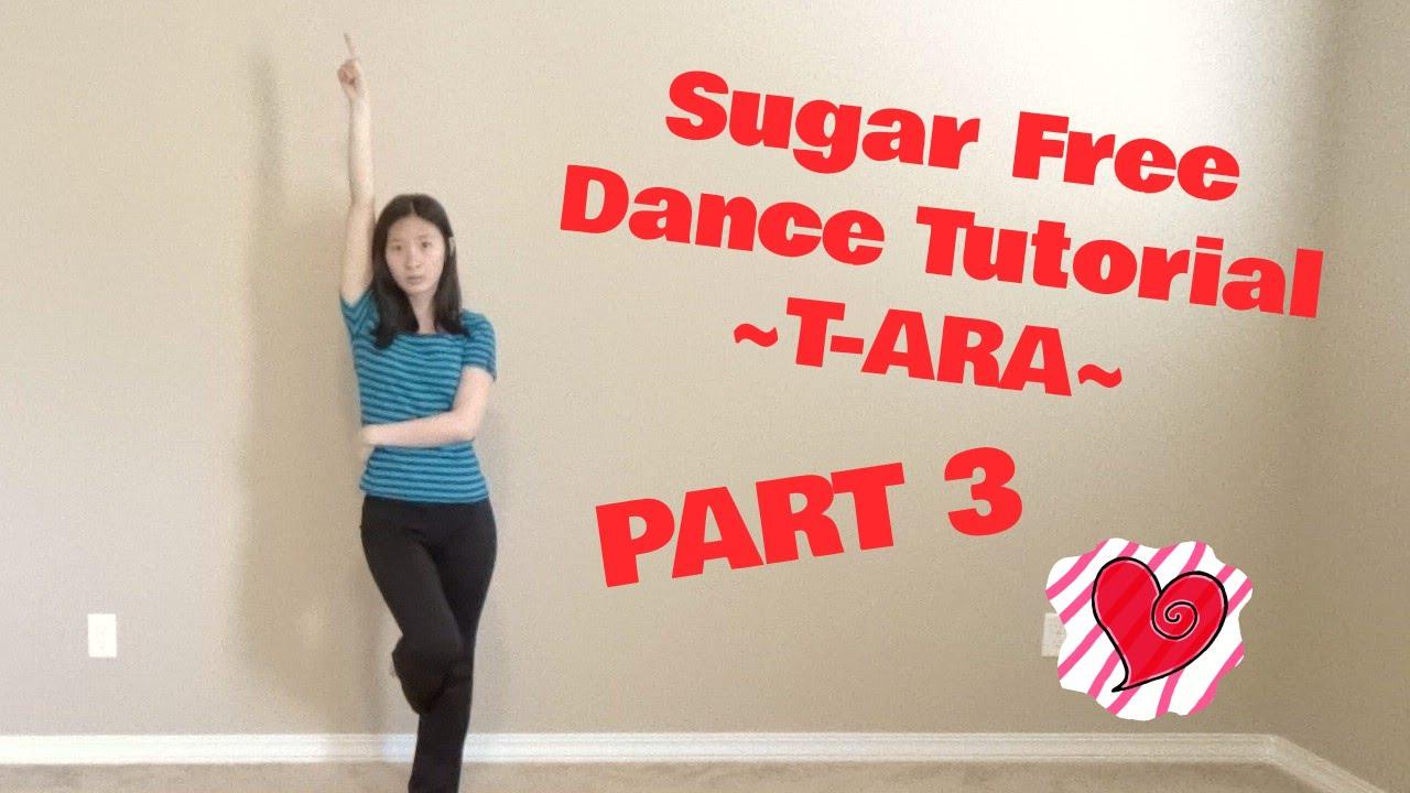 sugar free t ara mirrored dance tutorial part 3
