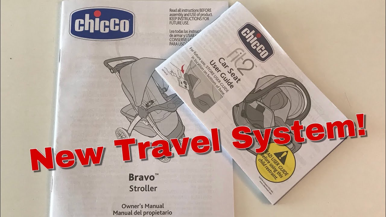 Chicco Bravo Stroller Fit2 Car Seat Youtube