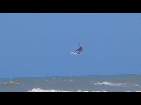 Kite Surfing Kiteboarding In Myrtle