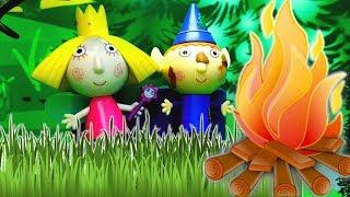 PEPPA PIG italiano - Ben e Holly Nuovo episodio , storie per bambini piccoli con giocattoli