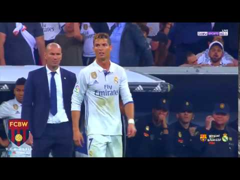 Cristiano Ronaldo Reaction After Messi Last Minute Goal