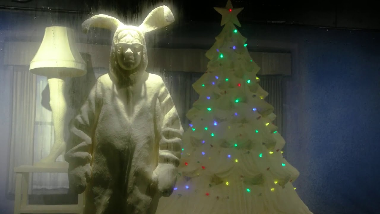 A Christmas Story\' butter sculptures at Ohio State Fair - YouTube