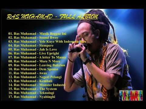 RAS MUHAMAD - THE BEST FULL ALBUM - REGGAE INDONESIA