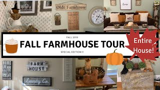 MUST SEE!! FALL 2019 FARMHOUSE TOUR - Whole house - SPECTACULAR!!!