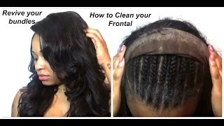 How to CLEAN GOT2B Glued from your FRONTAL and REVIVE your BUNDLES!