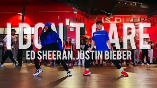 "Ed Sheeran & Justin Bieber - ""I Don't Care"" 