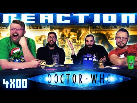 "Doctor Who 4x0 REACTION!! ""Voyage of the Damned"""
