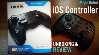 Moga Rebel iOS Controller Unboxing and First Impressions