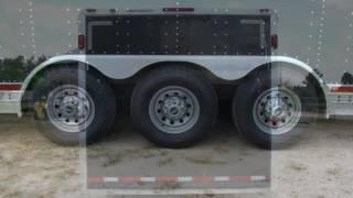2003 FEATHERLITE TRAILER 4941 ENCLOSED 40 CAR TRAILER  Used Rvs - CONROE,TX - 2016-07-22