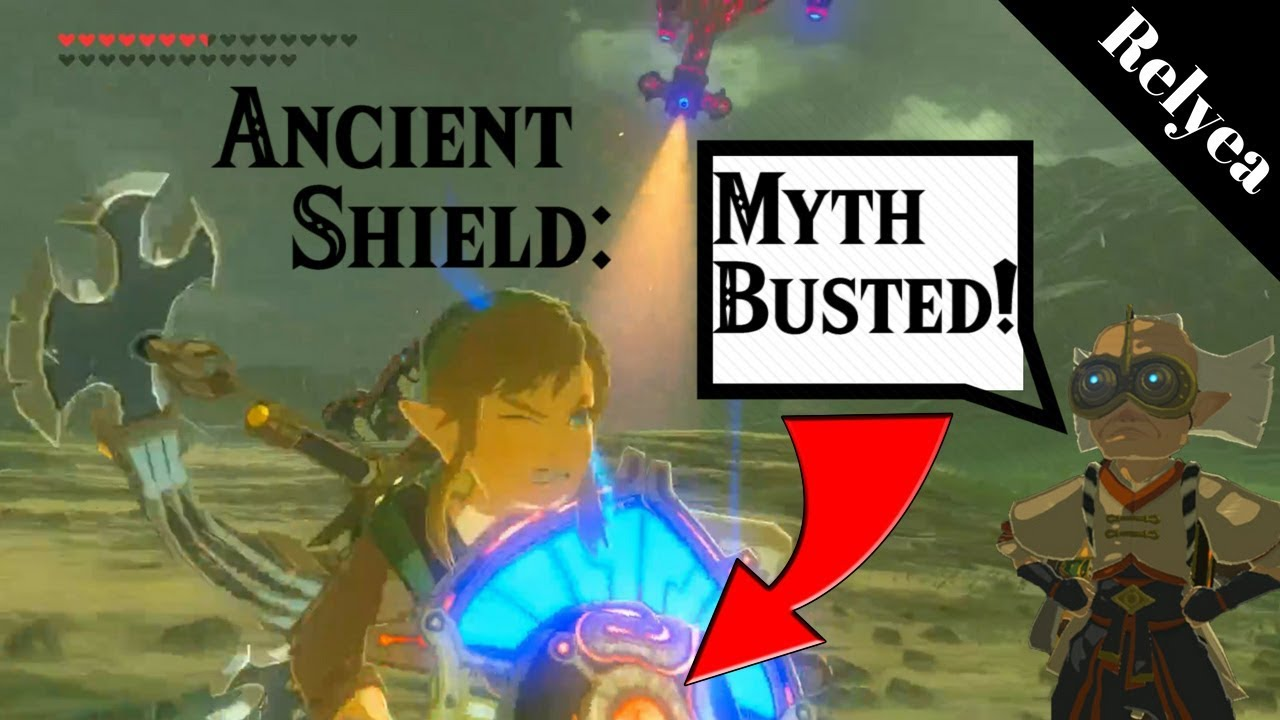 Ancient Shield Myth Busters - Breath of the Wild