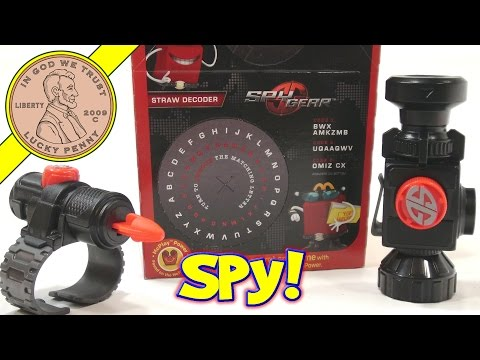 Spy Gear, 2014 McDonald's Happy Meal Toys​​​ | Kids Meal Toy