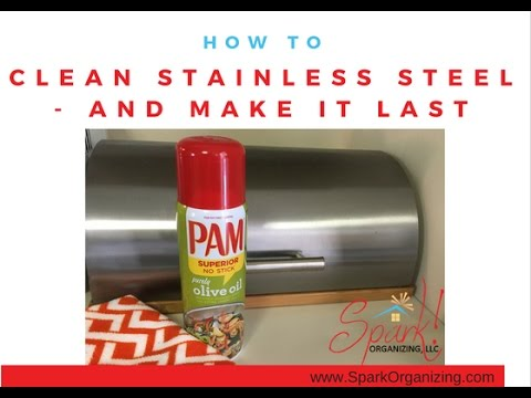 How to Clean Stainless Steel and Keep it Smudge-Free, Kitchen ...