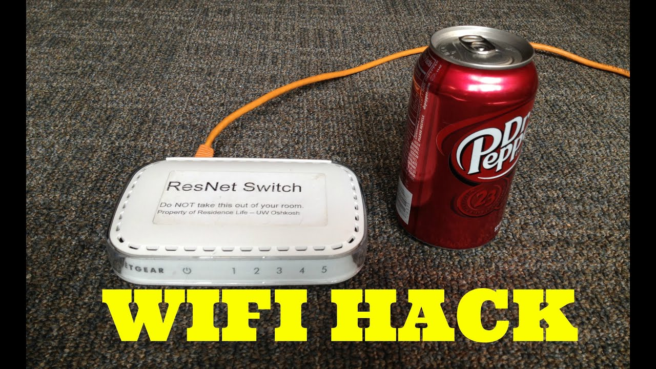 improve and strengthen wifi speed with a soda can youtube. Black Bedroom Furniture Sets. Home Design Ideas