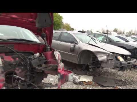 машина с аварии