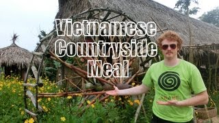 Vietnamese Countryside Tour & Vietnamese Meal at Tra Que Herb Village Water Wheel Hoi An, Vietnam