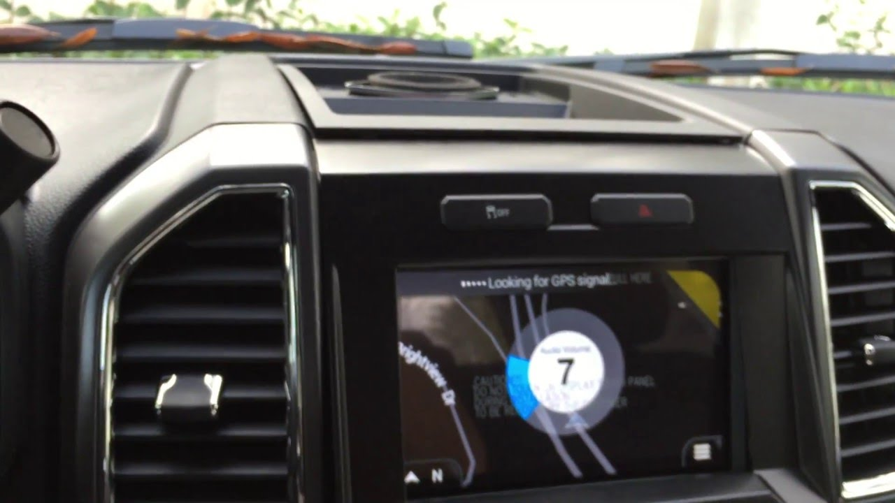 2016 F150 Sync 3 Navigation Upgrade Interface