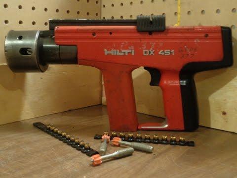 Hilti DX 451 Heavy Duty Semi Automatic Powder Actuated Tool