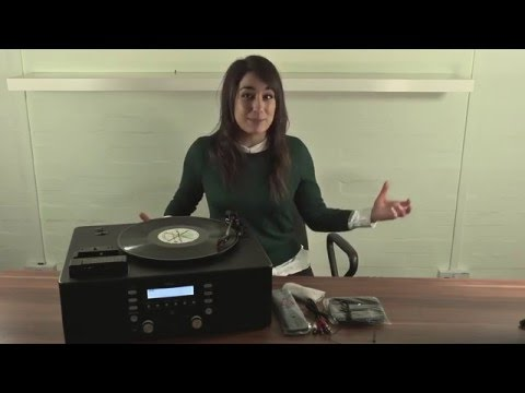 TEAC LPR500 Vinyl Cassette CD Copy Music System