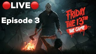 Friday the 13th Game LIVE PS4 | Online with viewers and subscribers.