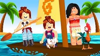 Roblox - VIDA DE MOANA (Moana Island Life)