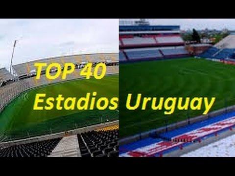 !!Top 40 Estadios de Uruguay Más Grandes e INCREÍBLES de 2017/2016!! Top 10!!