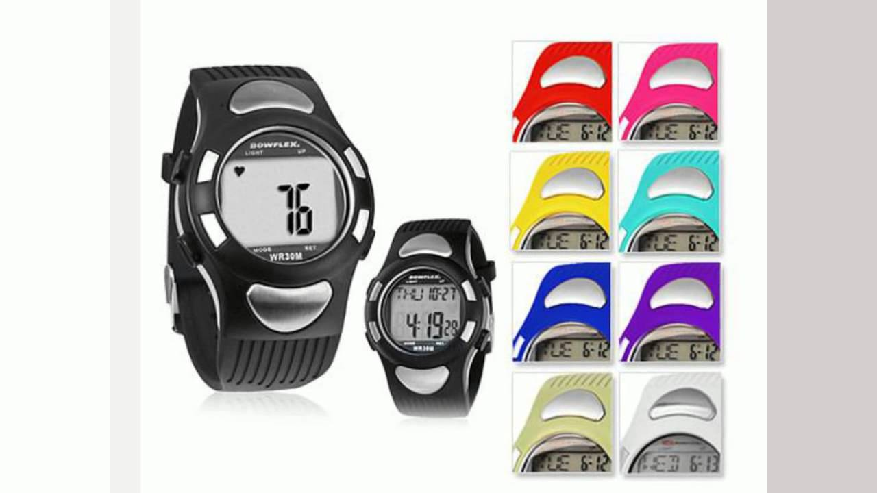 bowflex ez pro heart rate monitor watch youtube rh youtube com Bowflex Monitor Watch Chronograph Watches