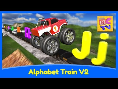 Alphabet Train v2 - Learn ABCs, Animals and Vehicles for Kids by Brain Candy TV