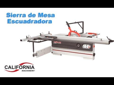 Sierra mesa escuadradora sierra mesa california machinery for Sierra de mesa milanuncios