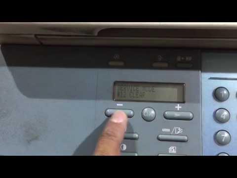 Canon iR 1210, 1230, 1310 printer fuser error reset