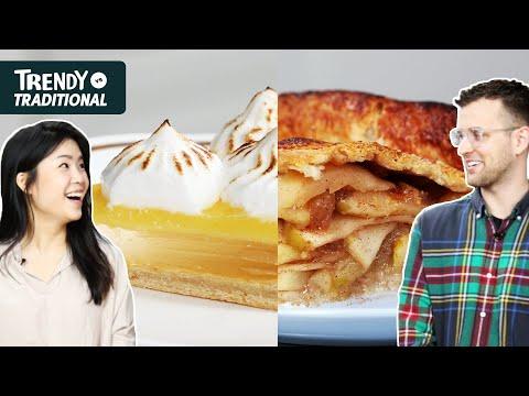 Trendy Vs. Traditional: Pie •Tasty